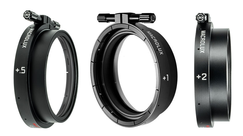 Leica Cine Macrolux diopters