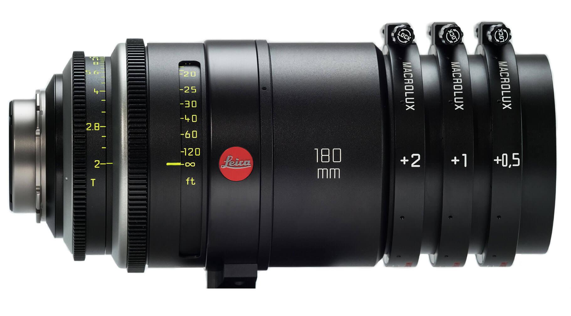 180mm Leica Cine Macrolux