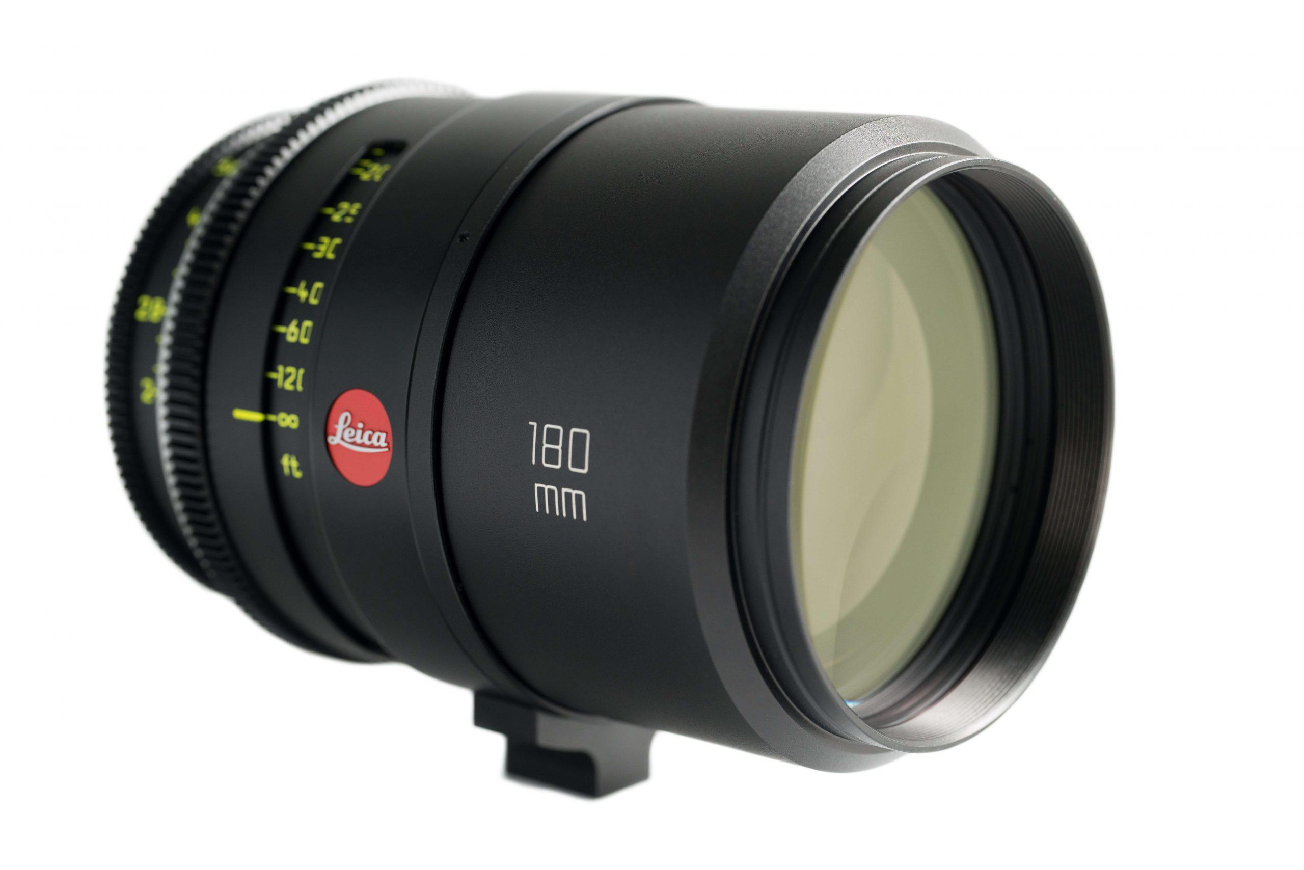 180mm Leica Cine T2 side view