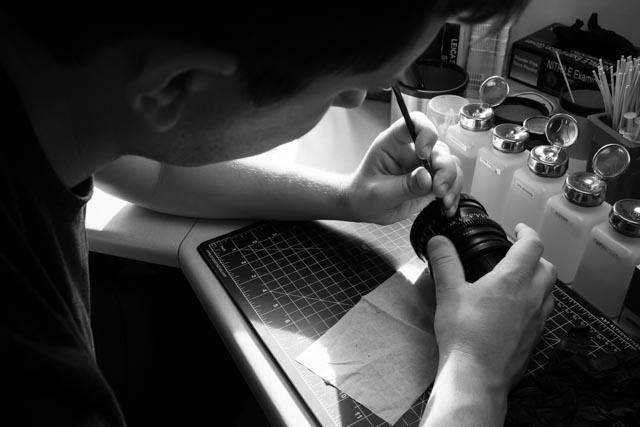 cinema lens service repair 2