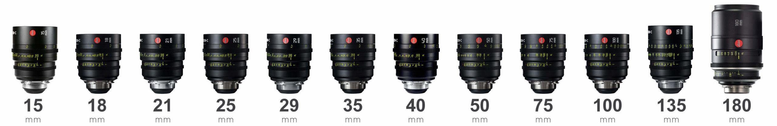 Leica Leitz Summicron-C lenses