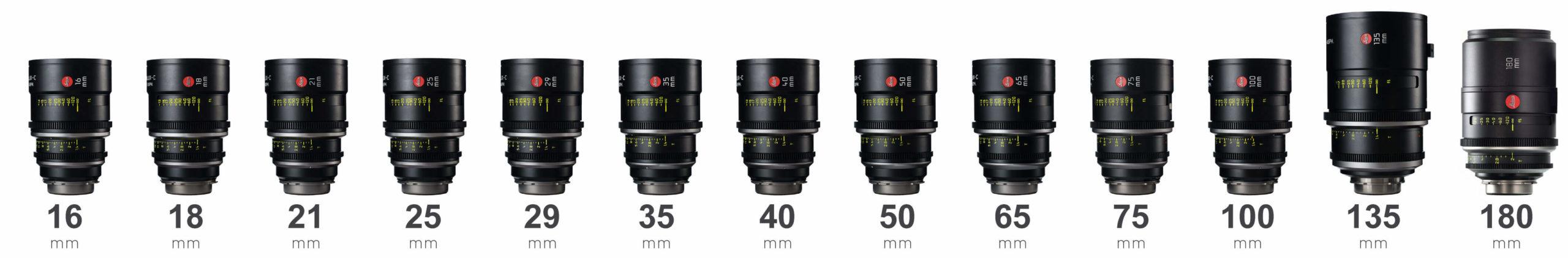 Leica Leitz Summilux-C lenses