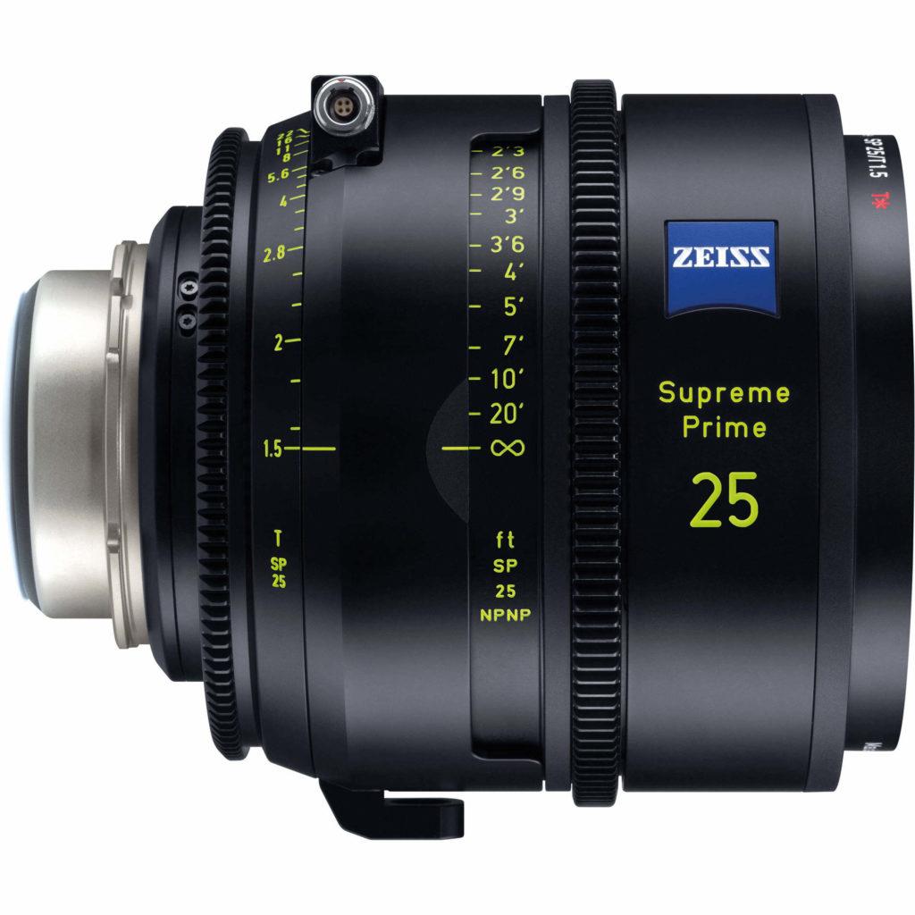 Zeiss Supreme Prime full frame lens 25mm