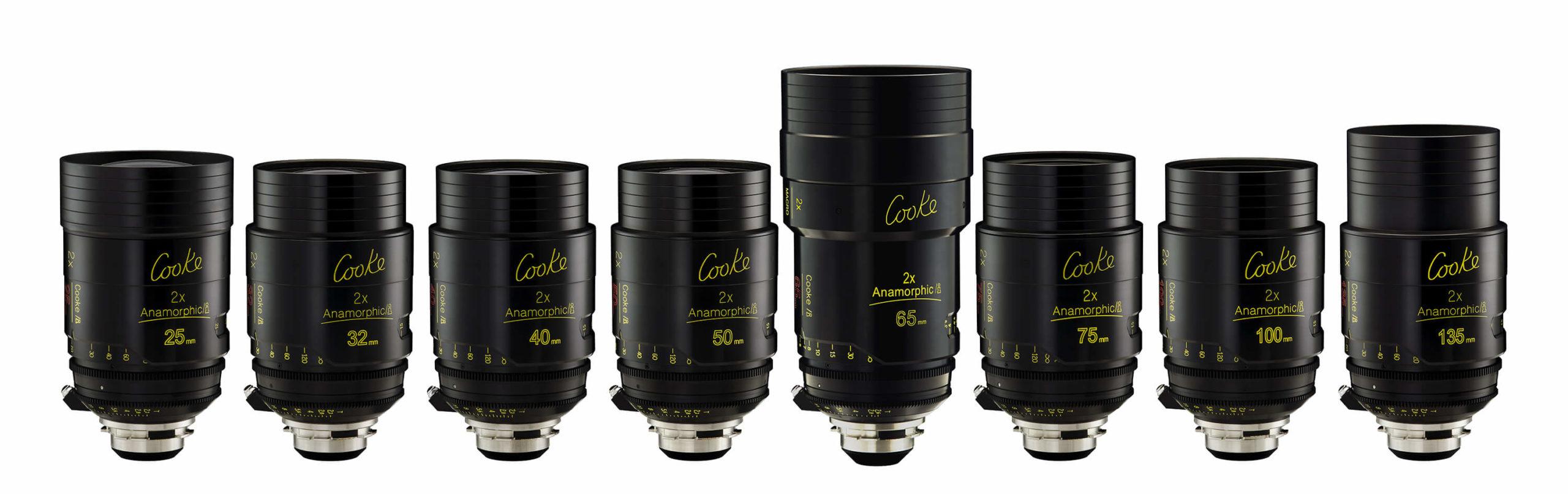 Cooke Anamorphic 2x lenses