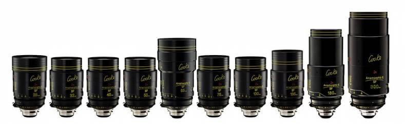 Cooke Anamorphic SF 2x lenses