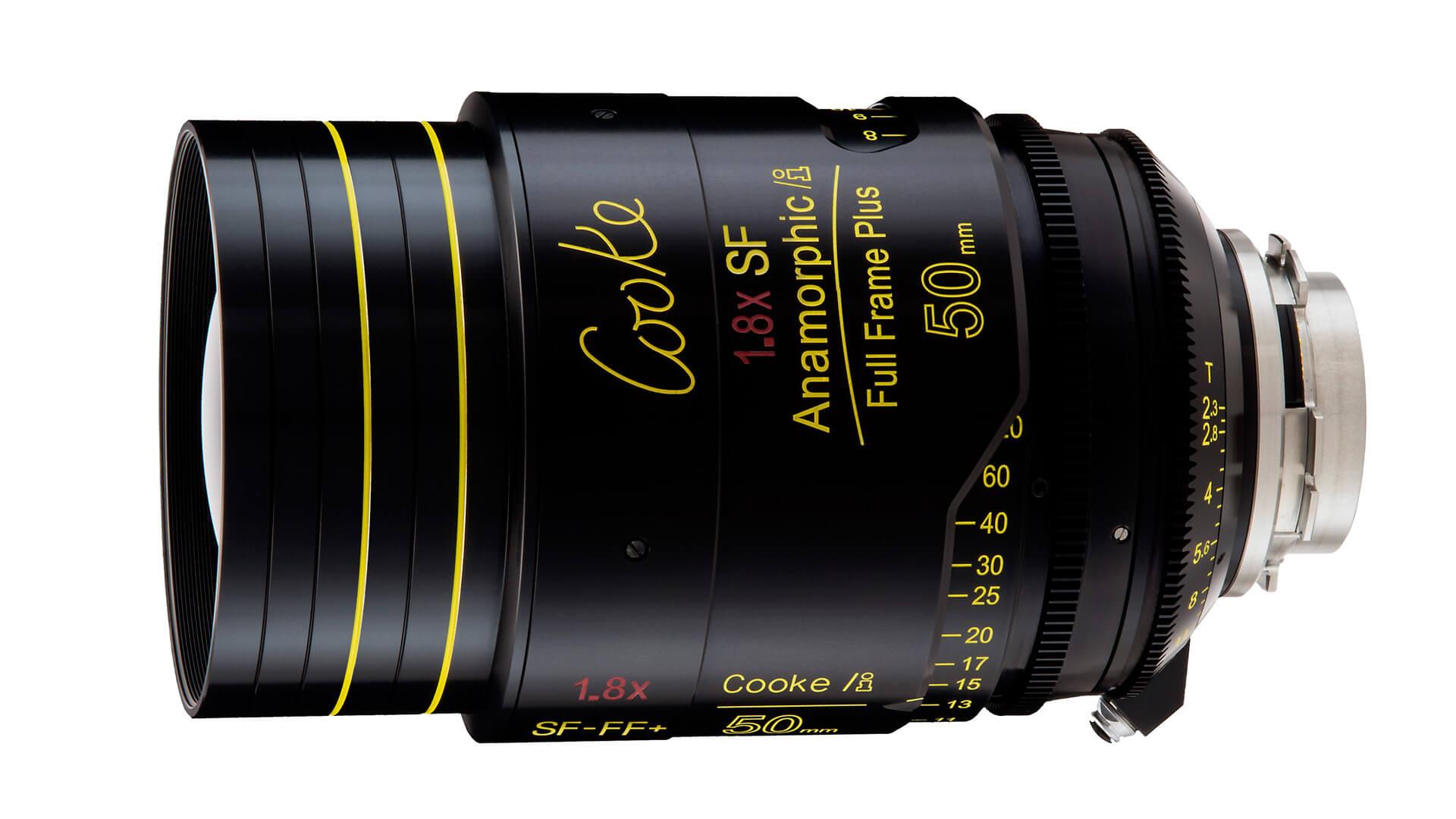 Cooke Anamorphic 1.8x SF full frame lens