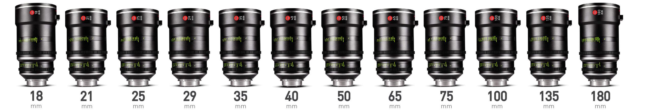 Leitz Prime full frame lenses